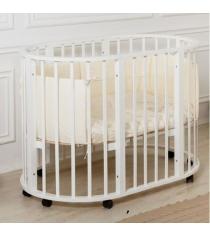 Кровать Incanto Gio 9 в 1 белый