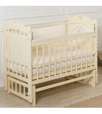 Кровать Incanto Sofi поперечный маятник слоновая кость