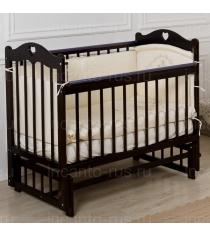Кровать Incanto Sofi продольный маятник темный