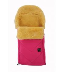 Зимний меховой конверт Kaiser Dublas pink 65103637