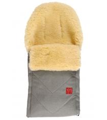 Зимний меховой конверт Kaiser Dublas gray melange 65103673