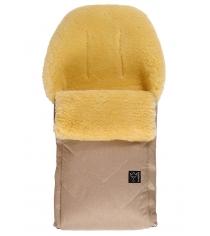Зимний меховой конверт Kaiser Dublas sand melange 65103674
