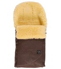 Зимний меховой конверт Kaiser Dublas brown melange 65103675