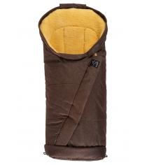 Зимний меховой конверт Kaiser Coosy brown melange 6721675