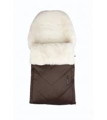 Зимний меховой конверт Kaiser Dublas brown natural white 68104635