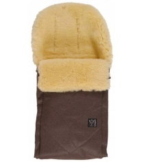 Зимний меховой конверт Kaiser Dublas brown melange natural white 68104675...