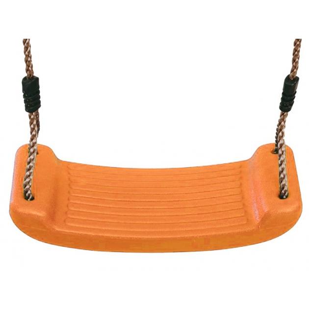 Качели лодочка оранжевый