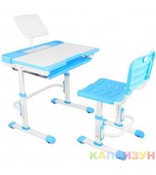 Парта трансформер со стулом Капризун A7-blue