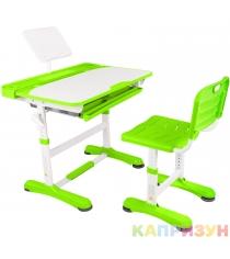 Парта трансформер со стулом Капризун R8-1-green