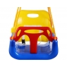 Подвесные качели кресло Капризун 3 в 1 красный жёлтый синий...