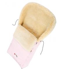 Меховой конверт Кроха Classic Pink XI