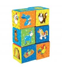 Развивающие кубики Macik Ферма MKP 8101-11