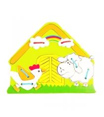 Деревянная шнуровка Mapacha Ферма 76408