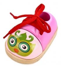 Шнуровка Mapacha для малышей Ботиночек Совушка 76427