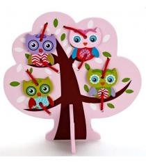 Шнуровка Mapacha Дерево с совятами 76429