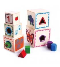 Деревянный сортер Mapacha матрешка волшебный куб 76678