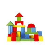 Деревянный конструктор Mapacha для малышей домик 30 деталей 76694