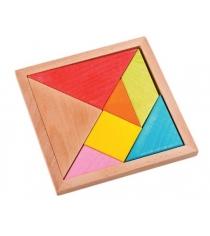 Деревянный пазл Mapacha треугольники 7 элементов 76732