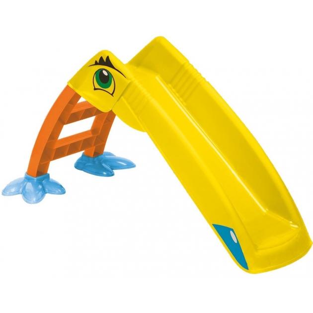 Горка детская пластиковая Пеликан 607 Marian Plast