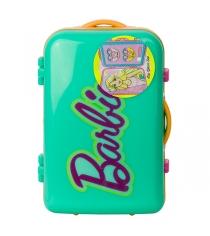 Barbie набор детской декоративной косметики в чемоданчике зеленый Markwins 9600251