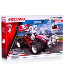 Конструктор Meccano набор гоночная машина на радиоуправлении 2 модели 91780