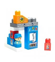 Мега Блокс игровой набор полицейский участок DYC56