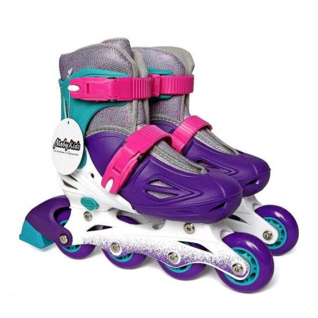 Коньки роликовые Moby Kids р.30-33 фиолетовые