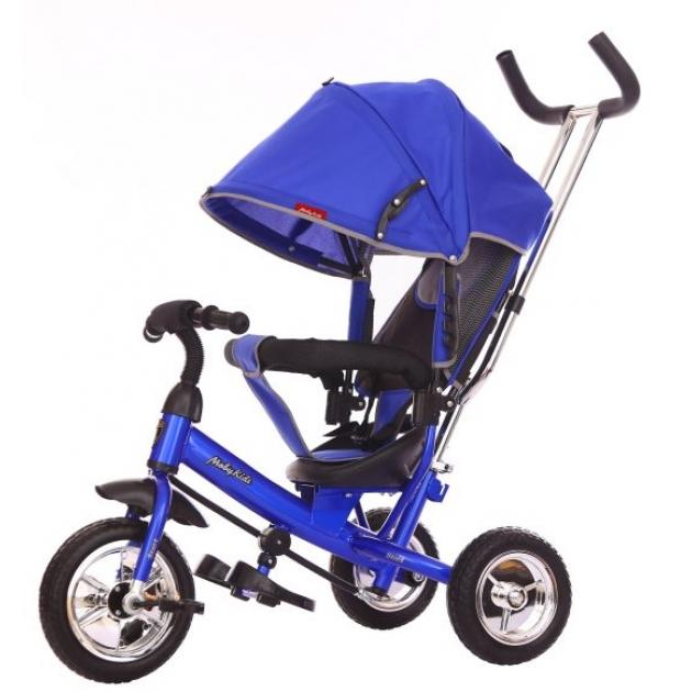 Трёхколёсный велосипед Moby Kids Start EVA синий