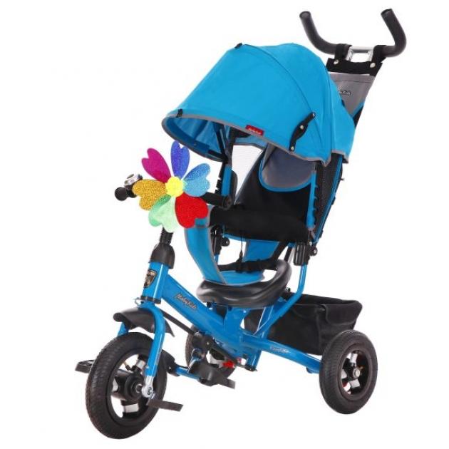 Детский трёхколёсный велосипед Moby Kids Comfort 10х8 AIR синий