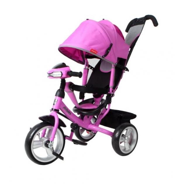Трёхколёсный велосипед Moby Kids Comfort EVA Car лиловый