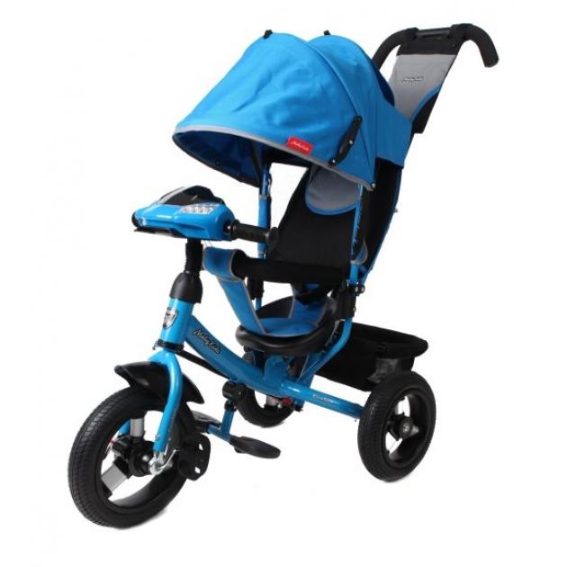Трёхколёсный велосипед Moby Kids Comfort AIR Car синий