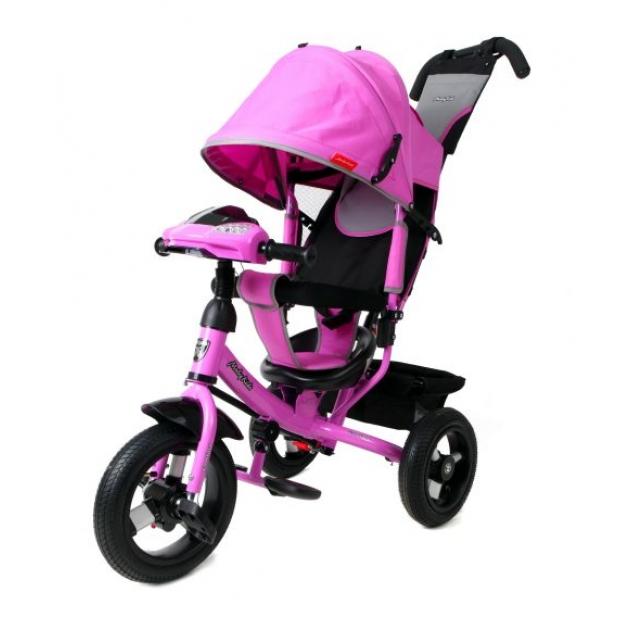 Трёхколёсный велосипед Moby Kids Comfort AIR Car лиловый