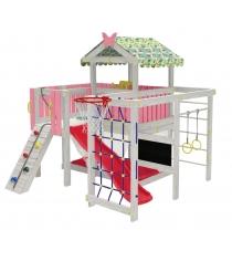 Детский домашний игровой комплекс чердак ДК3Р Розовый