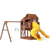 Детский игровой комплекс Р955 с трубой и горкой...