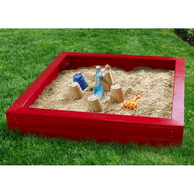 Детская песочница Можга Красная звезда Р903 красный