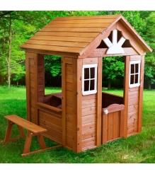 Деревянный домик Солнечный Р910 Можга красная звезда