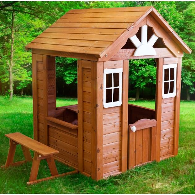 Деревянный домик Солнечный Р910