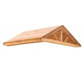 Крыша деревянная для спортивного городка Р913 Можга красная звезда