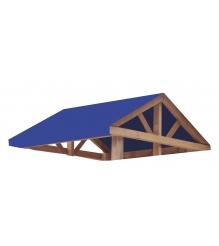 Крыша тент для спортивного городка Р914 Можга красная звезда