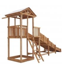 Детская площадка Можга Спортивный городок с узкой лестницей