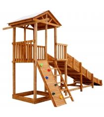 Детская площадка Можга Спортивный городок 2 с горкой
