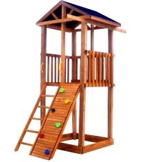Детская площадка Можга Красная звезда Спортивный городок 2 крыша тент