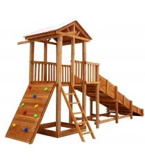 Детская площадка Можга Спортивный городок 3 с горкой