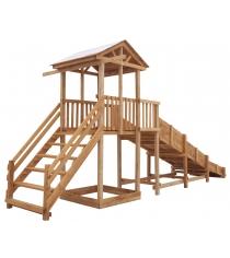 Детская площадка Спортивный городок c широкой лестницей