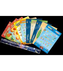 Логическая игра Банда Умников набор плакатов в подарочном тубусе УМ049