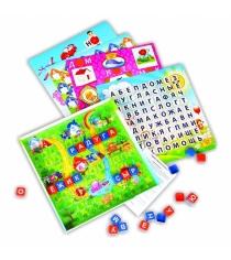 Настольная игра Биплант Эрудит дружные буквы игровое поле прозрачное 10006