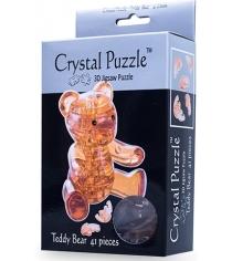 Игра головоломка Crystal puzzle мишка янтарный 90214
