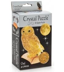 Игра головоломка Crystal puzzle сова золотая 90247