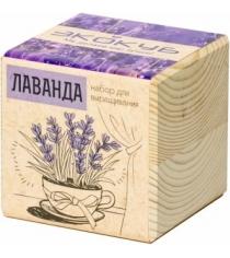 Набор выращиваем растения Экокуб лаванда артикул ECB-01-14