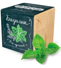 Набор выращиваем растения Экокуб базилик артикул ECB-02-02